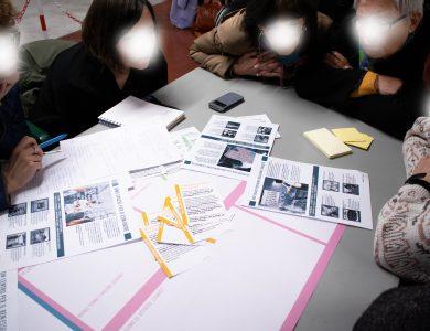 2. Co-design workshop: discussing local scenarios;